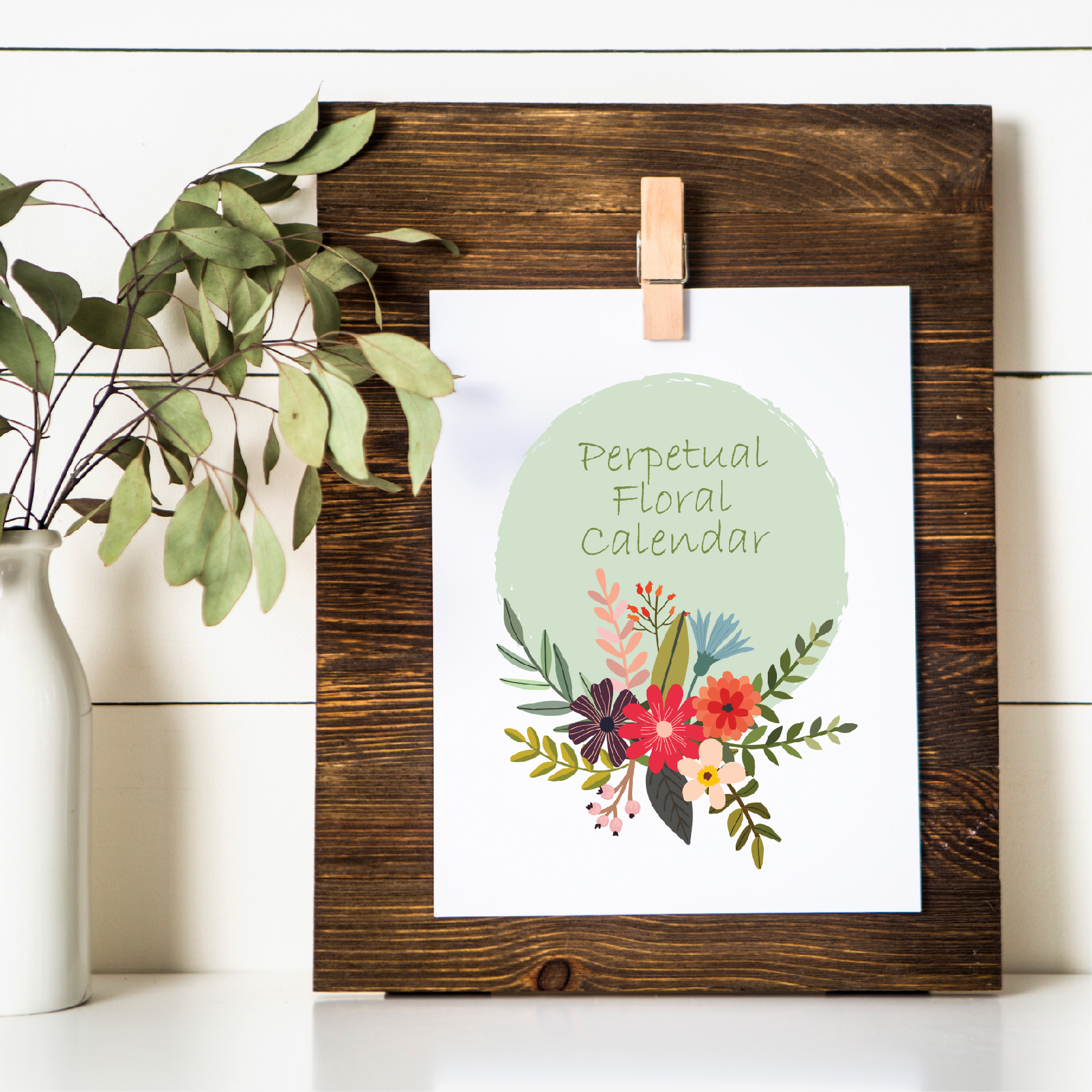 Creating to the Glory of God. Plus a free printable perpetual calendar!