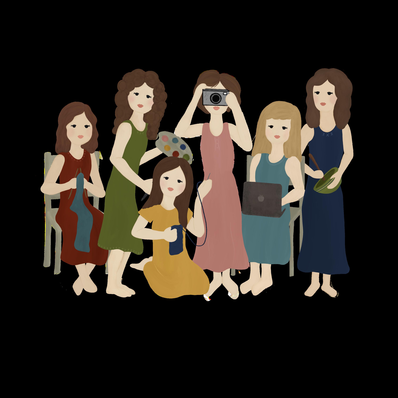 creative little women